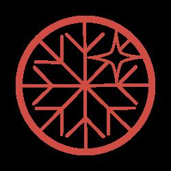 尾形米穀店オリジナル雪きらりアイコン